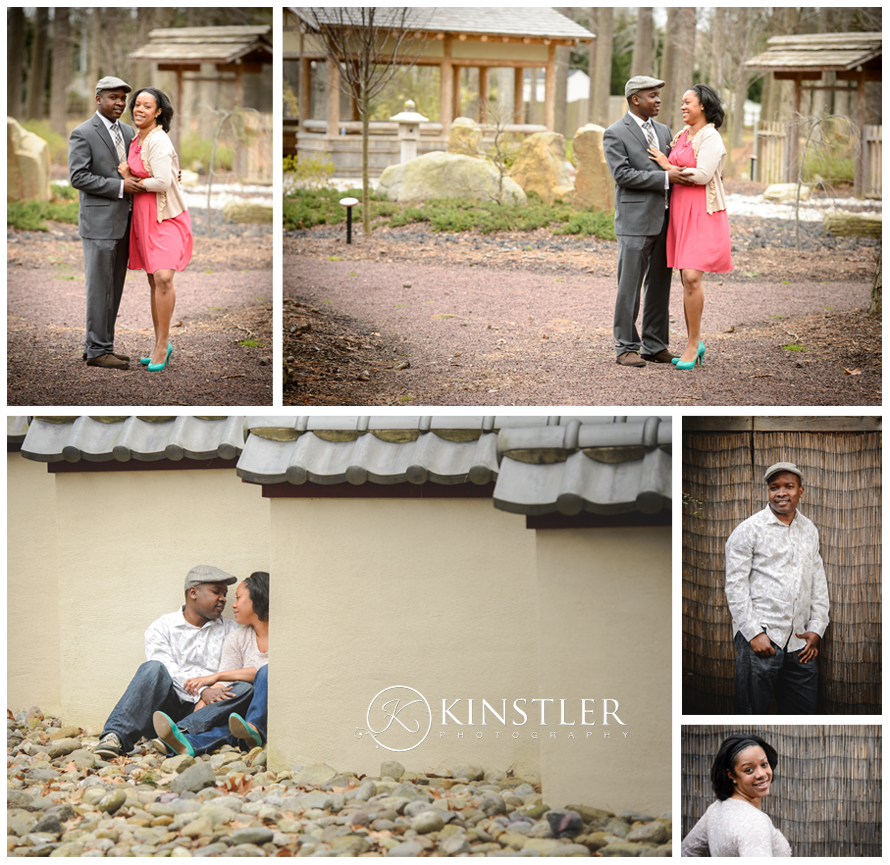 Engagement Portraits in Virginia Beach at Red Wing Park
